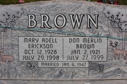 Don Merlin Brown