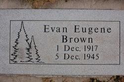 Evan Eugene Brown