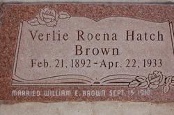 Verlie Roena <i>Hatch</i> Brown
