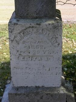Eliza E <i>Moore</i> Bailey
