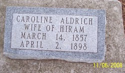 Caroline L <i>Hoon</i> Aldrich