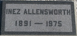 Mary Inez <i>Orendorff</i> Allensworth