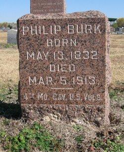 Pvt Philip Burk