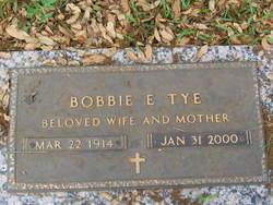 Robbie Elizabeth Bobbie <i>Childers</i> Tye