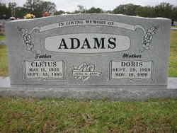 Doris <i>Basham</i> Adams