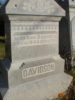 Alice Ann Alsa <i>Jones</i> Davidson