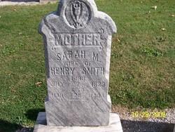 Sarah M. <i>Cartwright</i> Smith