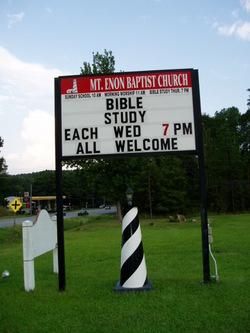 Mount Enon Baptist Church Cemetery
