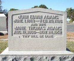 John Edwin Adams