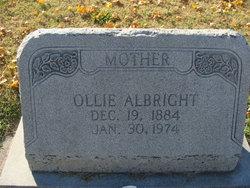 Ollie <i>Byrum</i> Albright