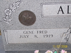 Rev Gene Fred Allen