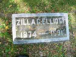 Zilla G Elliott