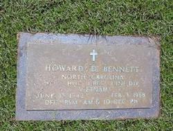 WO Howard Duncan Bennett