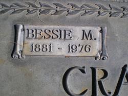 Bessie M <i>Rice</i> Crawford