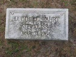 Luddie <i>Garner</i> Bahrt