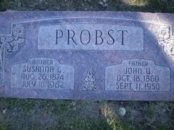 Susanna <i>Gertsch</i> Probst