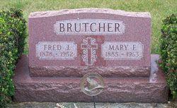 Mary F <i>Hietter</i> Brutcher