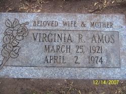 Virginia Rose <i>Smith</i> Amos