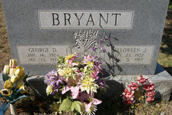 Lelloween J. <i>Jones</i> Bryant
