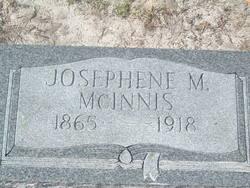 Josephine M <i>Minton</i> McInnis