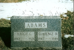 Margaret Catherine Maggie <i>Lambert</i> Adams