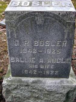 Sallie Ann <i>Angle</i> Bosler