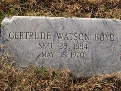Mary Gertrude Gertye <i>Watson</i> Boyd