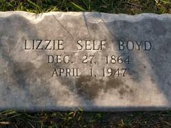 Lizzie Self Boyd