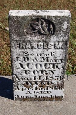 Frances M Acock