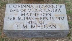 Corinna Florence <i>Matheson</i> Boggan