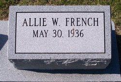 Allie W. French