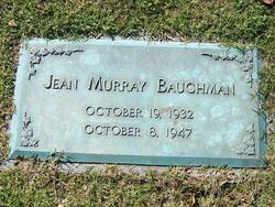Jean <i>Murray</i> Baughman