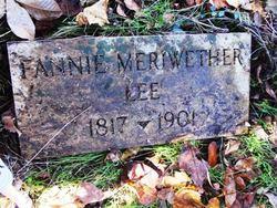 Frances Ann Fannie <i>Meriwether</i> (Cobb) Lea