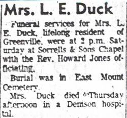 Helen Carter <i>Edmonds</i> Duck