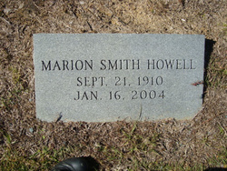Marion <i>Smith</i> Howell