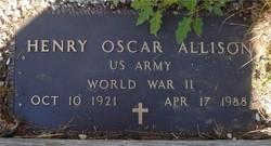 Henry Oscar Allison