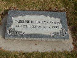 Caroline <i>Hinckley</i> Cannon