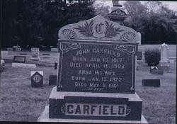 Anna <i>Kelland</i> Carfield