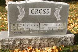 Sylvia Ann <i>Dean</i> Cross