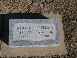 Myrtle <i>Rich</i> Freeman