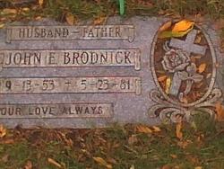 John E Brodnick