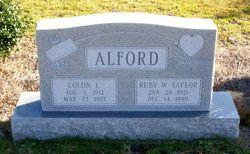 Ruby <i>Wilkes</i> Alford