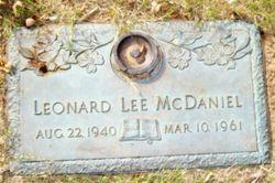 Leonard Lee McDaniel