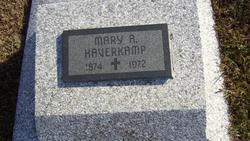 Mary A. <i>Stegeman</i> Haverkamp