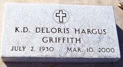 Katherine Deloris <i>Hargus</i> Griffith