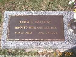 Lera L <i>LaPrade</i> Falleaf