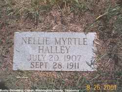 Nellie Myrtle Halley