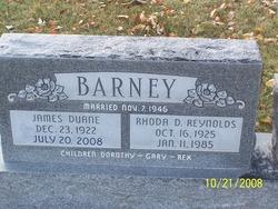 James Duane Barney