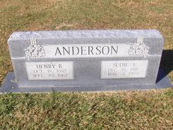 Susan Ellen Sudie <i>Conner</i> Anderson