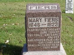 Mary <i>Frazier</i> Fiers
